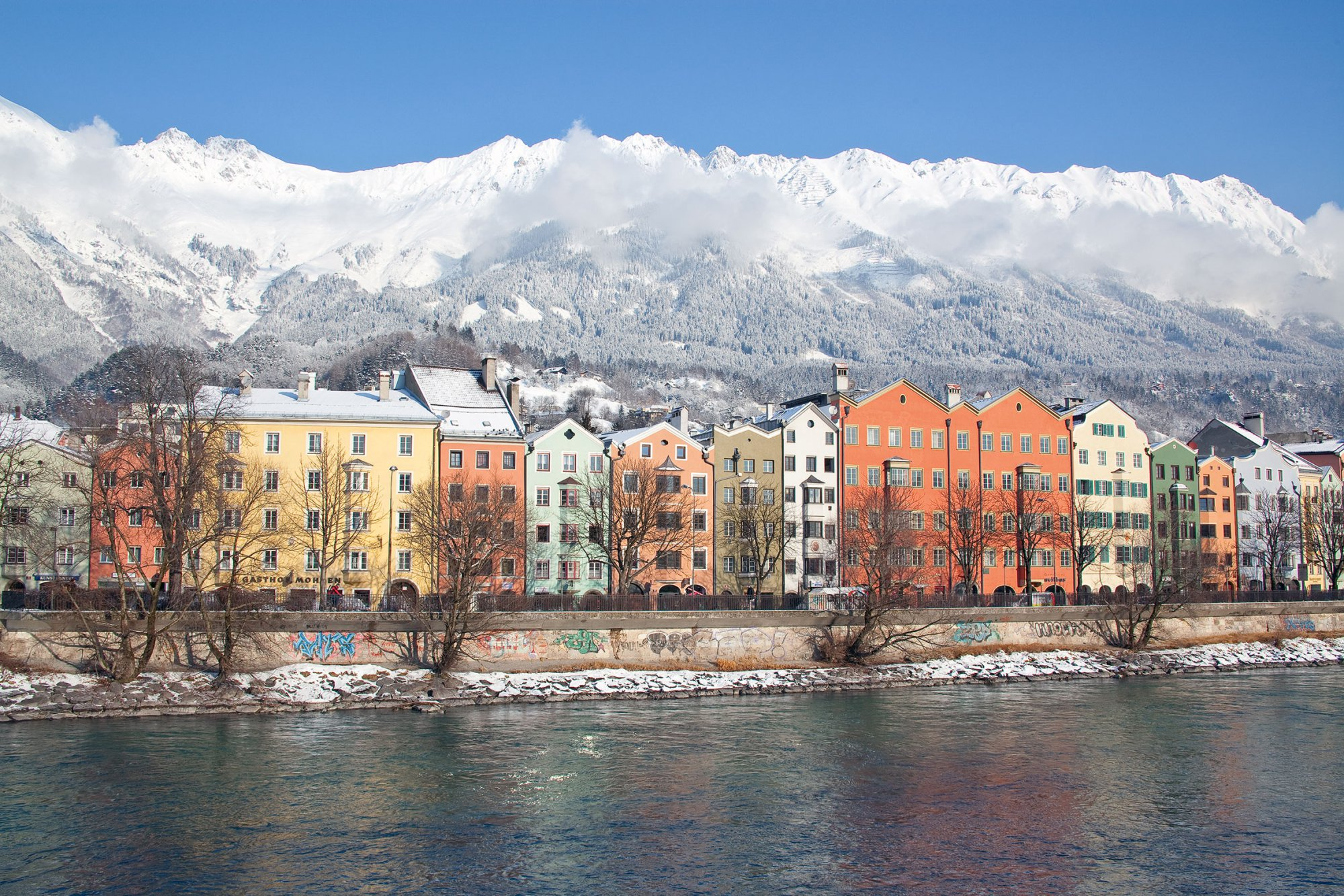 Innsbruc, the capital of the alps, 30 minutes away from Kühtai. Culture, shopping and christmas markets are waiting for you.